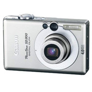 Canon Powershot SD300 4MP Digital Elph Camera With 3X Optical Zoom - EE710993