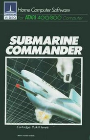 Submarine Commander By Thorn Emi For Atari 400 800 Vintage With Manual - EE711113