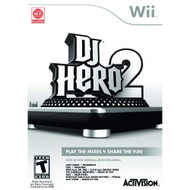 DJ Hero 2 For Wii Music With Manual and Case - EE711193