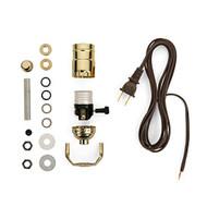 Lamp-Making Kit Electrical Wiring Kit To Make Or Refurbish Lamps - EE711237