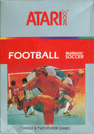 Football Realsports Soccer Atari 2600 For Atari Vintage - EE711362