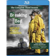 Breaking Bad: Season 3 Blu-Ray On Blu-Ray With Bryan Cranston Drama - EE711436
