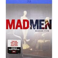 Mad Men: Season 5 Blu-Ray On Blu-Ray With Jon Hamm Drama - EE711444