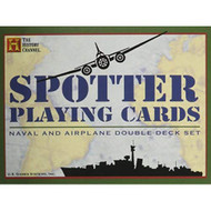 Spotter Playing Cards: Naval And Airplane Double Deck Set History - EE711467