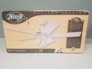Hunter Fremont 50 Inch Ceiling Fan With Light 22553 954-840 White - EE711621