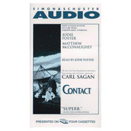 Contact Movie Tie-In Cassette By Carl Sagan And Jodie Foster Reader On - EE711852