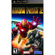 Iron Man 2 Sony For PSP UMD With Manual and Case - EE712014