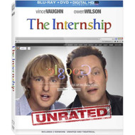 The Internship Blu-Ray DVD Digital HD With Ultraviolet On Blu-Ray With - EE712194