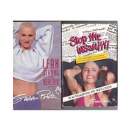 *2* Susan Powter Collectibles: Lean Strong And Healthy With Susan - EE712271