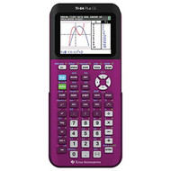 Texas Instruments TI-84 Plus Ce Plum Graphing Calculator GKX835 - EE712459