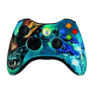 Wireless Halo 3 Covenant Controller For Xbox 360 Multi-Color - EE712478