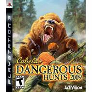 Cabela's Dangerous Hunts '09 For PlayStation 3 PS3 Shooter - EE712557