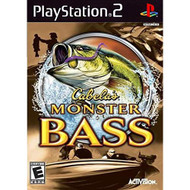 Cabela's Monster Bass For PlayStation 2 PS2 Shooter - EE712573