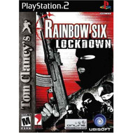 Tom Clancy's Rainbow Six Lockdown For PlayStation 2 PS2 6 With Manual - EE712606