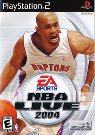 NBA Live 2004 PS2 Refurb For PlayStation 2 Basketball With Manual and - EE712608