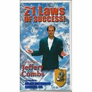 21 Laws Of Success By Jeffery Combs On Audio Cassette - EE712850
