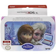 XL Frozen Anna And Elsa Clutch For 3DS Pink Game - EE713091