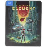 Fifth Element Steelbook Blu-Ray On Blu-Ray With Bruce Willis - EE713319