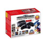 Sega Genesis Classic Game Console 2016 Vintage Black Home FB8280B - EE713329