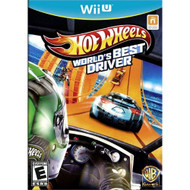 Hot Wheels World's Best Driver Standard Edition For Wii U Racing With - EE588785