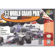 F-1 World Grand Prix For N64 Nintendo Racing - EE641771