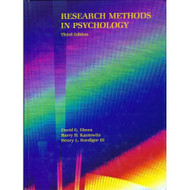 Research Methods In Psychology By Elmes David G Etc Book Paperback - D568587