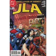 Jla #109 Fn DC Comic Book Superhero - D606080