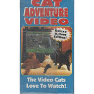 Cat Adventure Video: The Video Cats Love To Watch Deluxe 6-HOUR - D610059