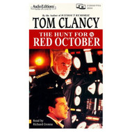 The Hunt For Red October Abridged By Clancy Tom Crenna Richard Reader - D637018