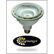Brighter Light 19W 1380 Lumen Non-Dimmable PAR38 LED Bulb Warm White 3 - DD568160