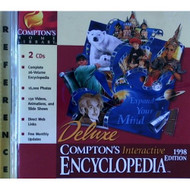 Comptons Interactive Encyclopedia 98 L/WW95/US Software - DD571058