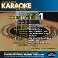 Karaoke Gold: Radio Country Hits 1 On Audio CD Album 2011 - DD572608