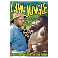 Law Of The Jungle On DVD With Arline Judge - DD578413