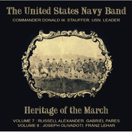 The United States Navy Band Heritage Of The March Vols 7 And 8 By US - DD578504