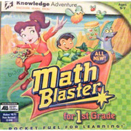 Math Blaster For 1st Grade Software - DD580671