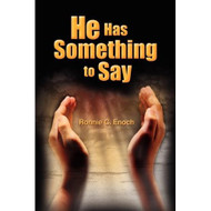 He Has Something To Say By Enoch Ronnie C Book Paperback by Enoch  - DD580902