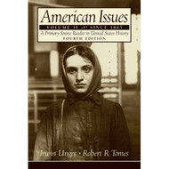 American Issues: A Primary Source Reader In United States History - DD582792