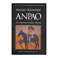 Anpao An American Indian Odyssey By Highwater Jamake Book Paperback by - DD584486