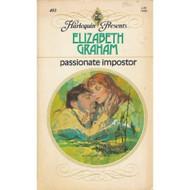 Passionate Impostor By Graham Elizabeth Book Paperback - DD584516