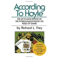 According To Hoyle By Frey Richard L Book Paperback - DD584523