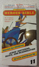 Children's Heroes Of The Bible #11 Jesus' Suffering Death Resurrection - DD585282
