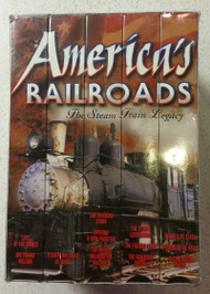 America's Railroads: The Steam Train Legacy On VHS - DD585284