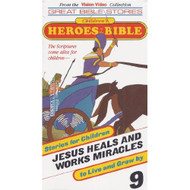 Children's Heroes Of The Bible #9 Jesus Heals And Works Miracles On - DD585288