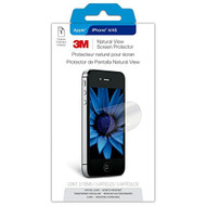 3M NVIPPHONE4/4S-1 Natural View Screen Protector For Apple iPhone 4 Or - DD587954