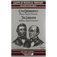 Civil Disobedience And The Liberator Audio Classics On Audio Cassette - DD589425