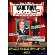 Karl Rove I Love You On DVD With Dan Butler Romance - DD595042