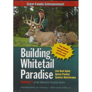 Building Whitetail Paradise Volume 3 On DVD With Bob Coine - DD596467