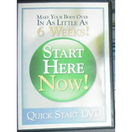 Quick Start Make Your Body Over In As Little As 6 Weeks 2007! On DVD - DD597755