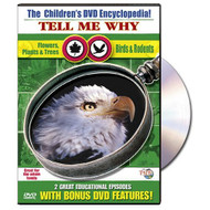The Children's Encyclopedia! Tell Me Why Flowers Plants Trees & Birds - DD603058