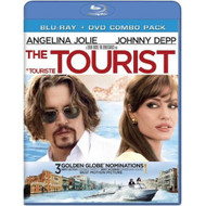 The Tourist Blu Ray/DVD Combo Pack 2011 Johnny Depp On Blu-Ray - DD604296